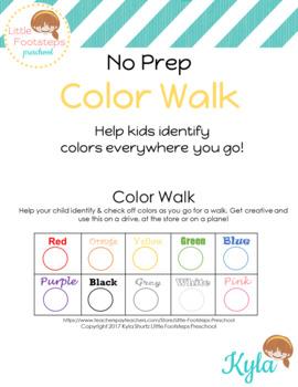 No Prep Color Walk