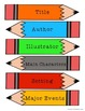 Common Core Literature Pack- Title, Characters, Setting, M