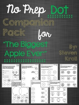 """No Prep Dot Companion Pack for """"The Biggest Apple Ever"""""""