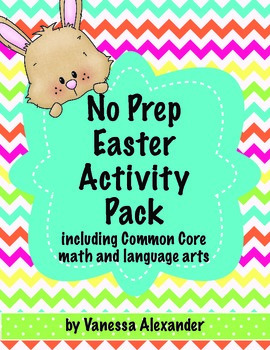No Prep Easter Activity Pack