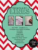 No Prep - Elements of Art: LINES (K-12)