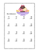 No Prep First Grade Math Worksheets -Subtraction-Common Co