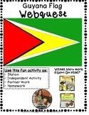 No Prep-Guyana Flag Mini Webquest