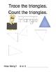 No Prep Kindergarten Math Morning Work-Geometry-School Ani