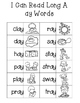 No Prep Long A Vowel Team AY Hands on Cut and Paste and Ot