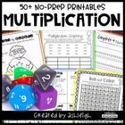 No Prep Multiplication Printables