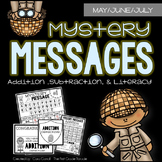 No Prep Mystery Messages - May/June/July