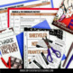 No Prep Foldable Novel Study Unit - Chocolate Bundle