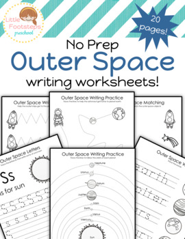 No Prep Outer Space Writing