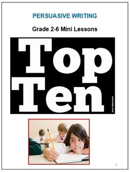 No Prep Persuasive Writing Unit Plan & Step-by-Step Lesson