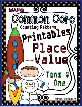 Tens and Ones No Prep Printables Number Patterns Place Val