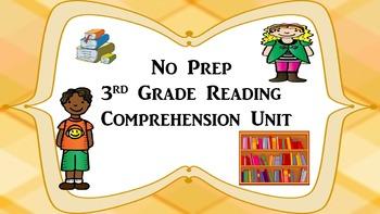 No Prep Reading Comprehension Unit