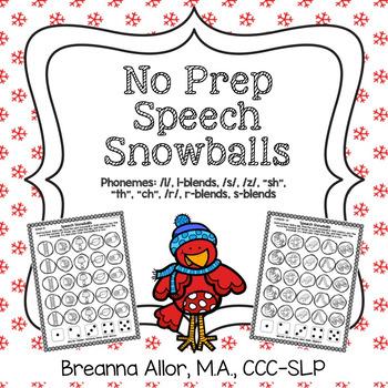 No Prep Speech Snowballs Later Sounds