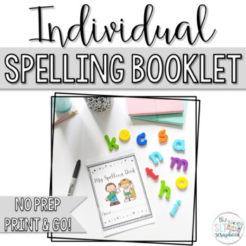 Spelling booklet - no prep. Includes 220 Dolch high freque