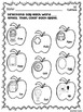 No Prep VC, CV, and CVC Apraxia Sheets for Fall