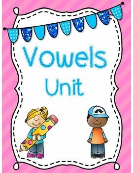 No Prep Vowels Unit *Common Core Aligned*