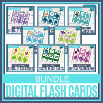 No Print Articulation Flash Cards - GROWING BUNDLE!
