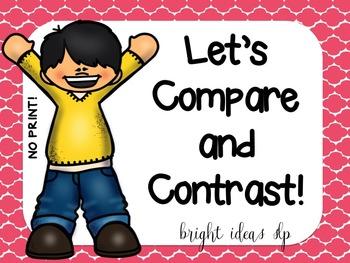 No Print Compare & Contrast