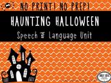 No Print Halloween Articulation & Language Bundle