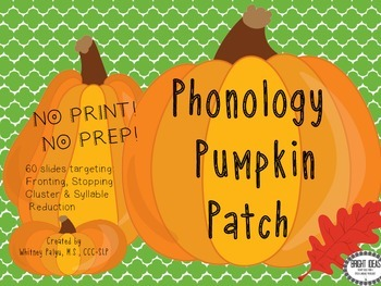 No Print Phonology Pumpkin Patch