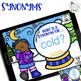 No Print Snowman Language: Receptive and Expressive