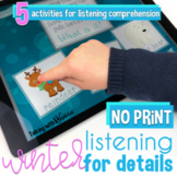 No Print Winter Listening for Details