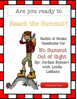 No Summit Out of Sight Battle of the Books Questions