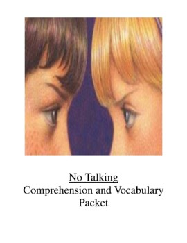No Talking Comprehension and Vocabulary Packet