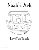 Noah's Arc:  Literacy and Math Center Fun