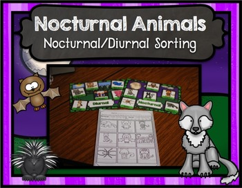Nocturnal Animal Center ~ Diurnal or Nocturnal