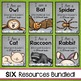 Nocturnal Animals Emergent Readers Bundle