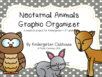 Nocturnal Animals Graphic Organizer