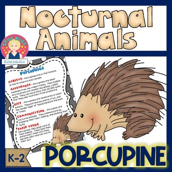 Nocturnal Animals - Porcupine