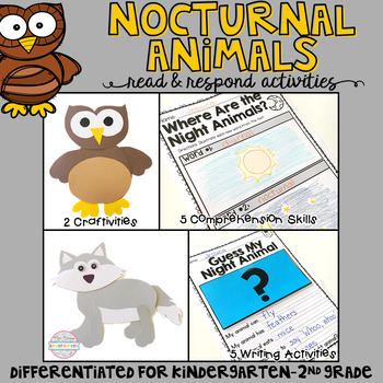Nocturnal Animals: Read and Respond