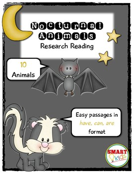 Nocturnal Animals Research Reading