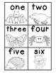 Nocturnal Numbers/Number Word Write the Room/Number Words 1-12