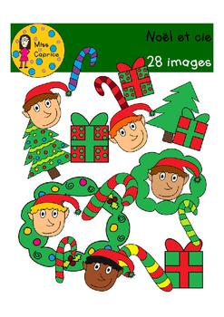 Noël et cie - Clip arts