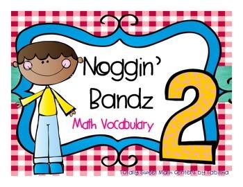 Noggin' Bandz- A Headband Vocabulary Game for Second Grade