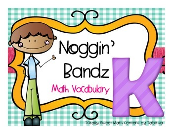 Noggin' Bandz- A Headband Vocabulary Game for Kindergarten