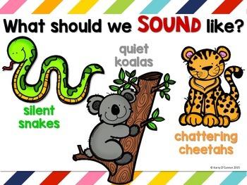 Noise Level Management System for preschool, prek, and kin