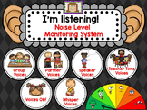 Noise Level Monitoring System - for use on your Smartboard
