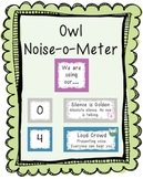 Noise-o-meter: Noise Level in the Classroom (Owls)