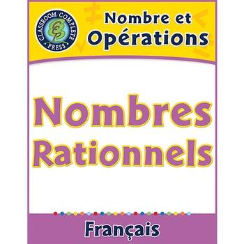 Nombre et Opérations: Nombres Rationnels An. 6-8