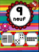 Nombres 1-20 - Affiches - Thème: monstres - French Numbers