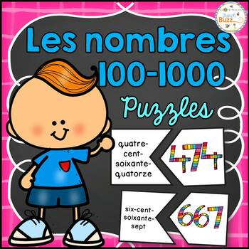 Nombres 100-1000 - Puzzles - French Numbers