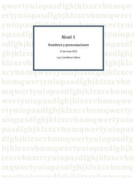 Nombres y presentaciones