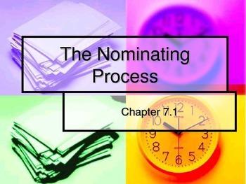 Nominating Process