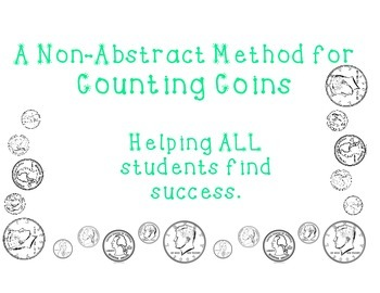 Non-Abstract Counting Money and Coins Scaffold