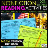 Nonfiction Reading Centers | Graphic Organizers for Readin