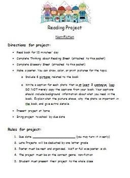 Non Fiction Book Project